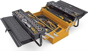 caja con HERRAMIENTAS metalica 88pzs: Amazon.es: Bricolaje y herramientas