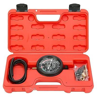 8MILELAKE Fuel Pump and Vacuum Tester Gauge Leak Carburetor Pressure Diagnostics: Automotive
