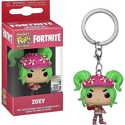 Amazon.com: Funko Zoey: Fortnite x Pocket POP! Mini-Figural ...