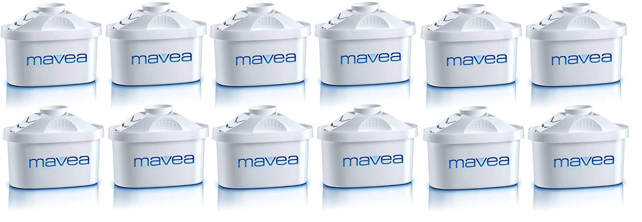 MAVEA 105731 Maxtra 12-Pack Replacement Filter for MAVEA Water Filtration Pitcher by Mavea