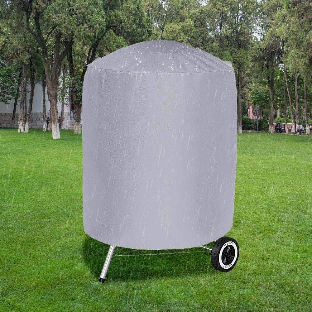 Zetiling Couvercle de Gril de Barbecue, couvertures de Gril à gaz de Barbecue résistant, couvercles de fumoir imperméables, Cuisson Sauvage(01) 01