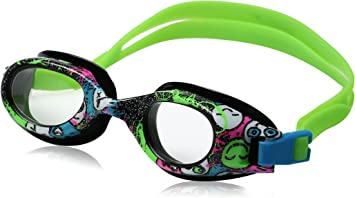 Pink Kids Recreation Goggle Speedo Junior Hydrospex Print Goggle