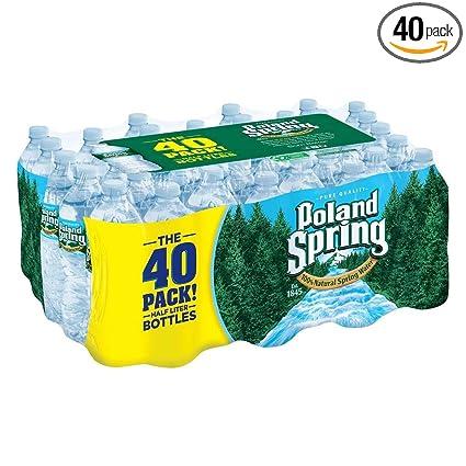 Polonia Primavera 100% Natural Agua de manantial (16,9 oz ...