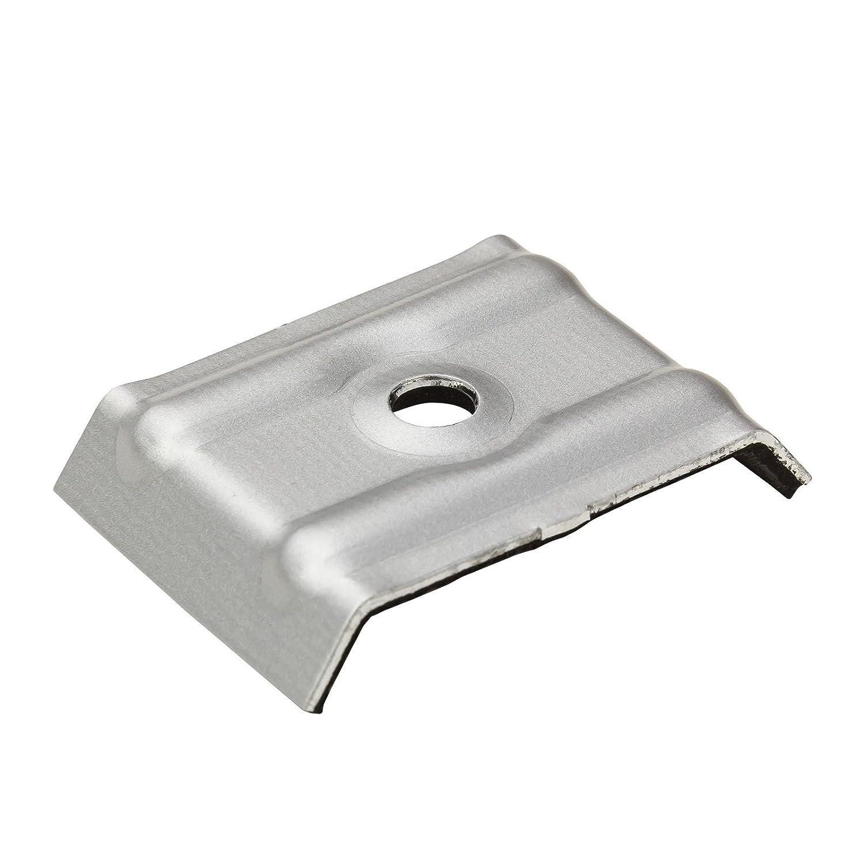 100x Kalotten Trapezblech Profilbleche Trapezform 35//207 Aluminium mit EPDM-Dichtung anthrazitgrau RAL 7016