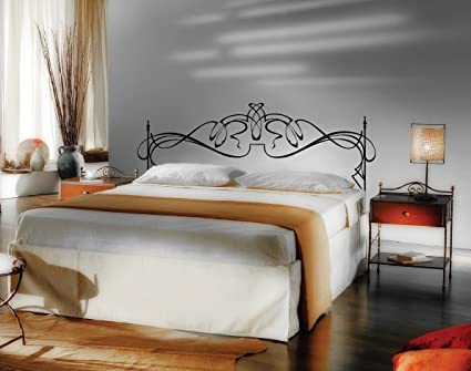 Queen Size 60\u0026quot; Wide Vinyl Headboard Panel Wall Art Decor Removable Decal #2201 & Amazon.com: Queen Size 60\