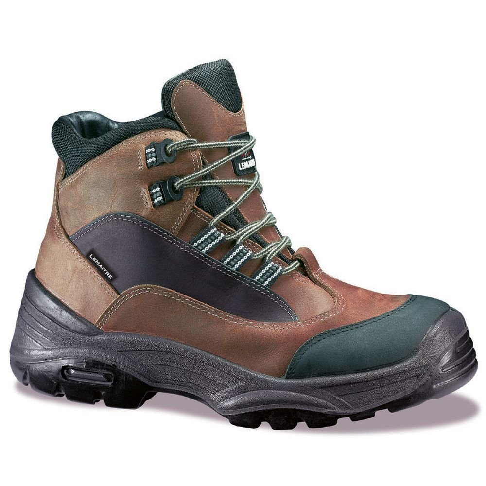 Lemaitre Schuh-Sicherheit Flut, membranée S3 hegoa Braun SRC 100% ohne Metall Braun hegoa / Schwarz 3c9c31