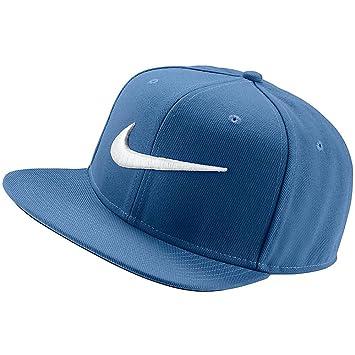 Nike Swoosh Pro Gorra, Hombre, Azul (Star Blue/Pine Green/Negro/Blanco), Talla Única: Amazon.es: Deportes y aire libre