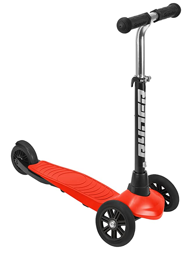 Amazon.com: Muñecas Saica 3432 3 Wheels Scooter, Red: Toys ...