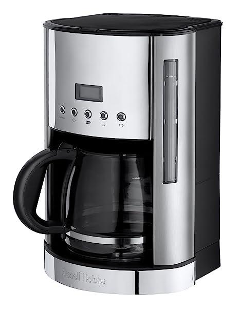 Russell Hobbs 18118-56 De Luxe - Cafetera (1,8 L, de 12 a 20 tazas, 1000 W)
