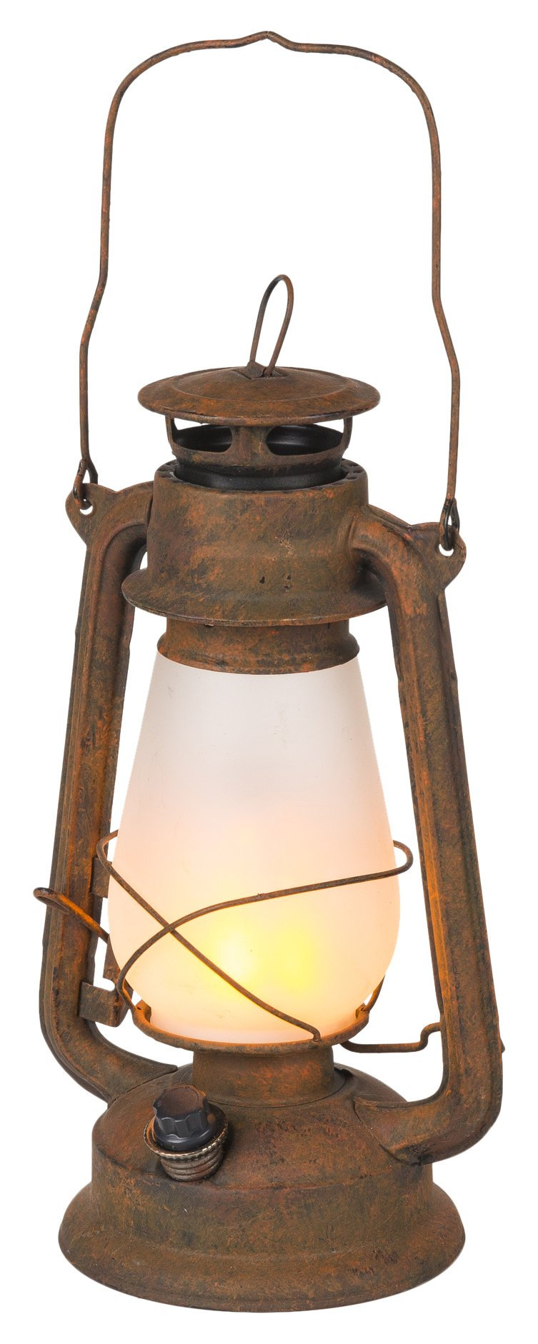 Winsome House WH064 Flaming Lights Antique LED Lantern