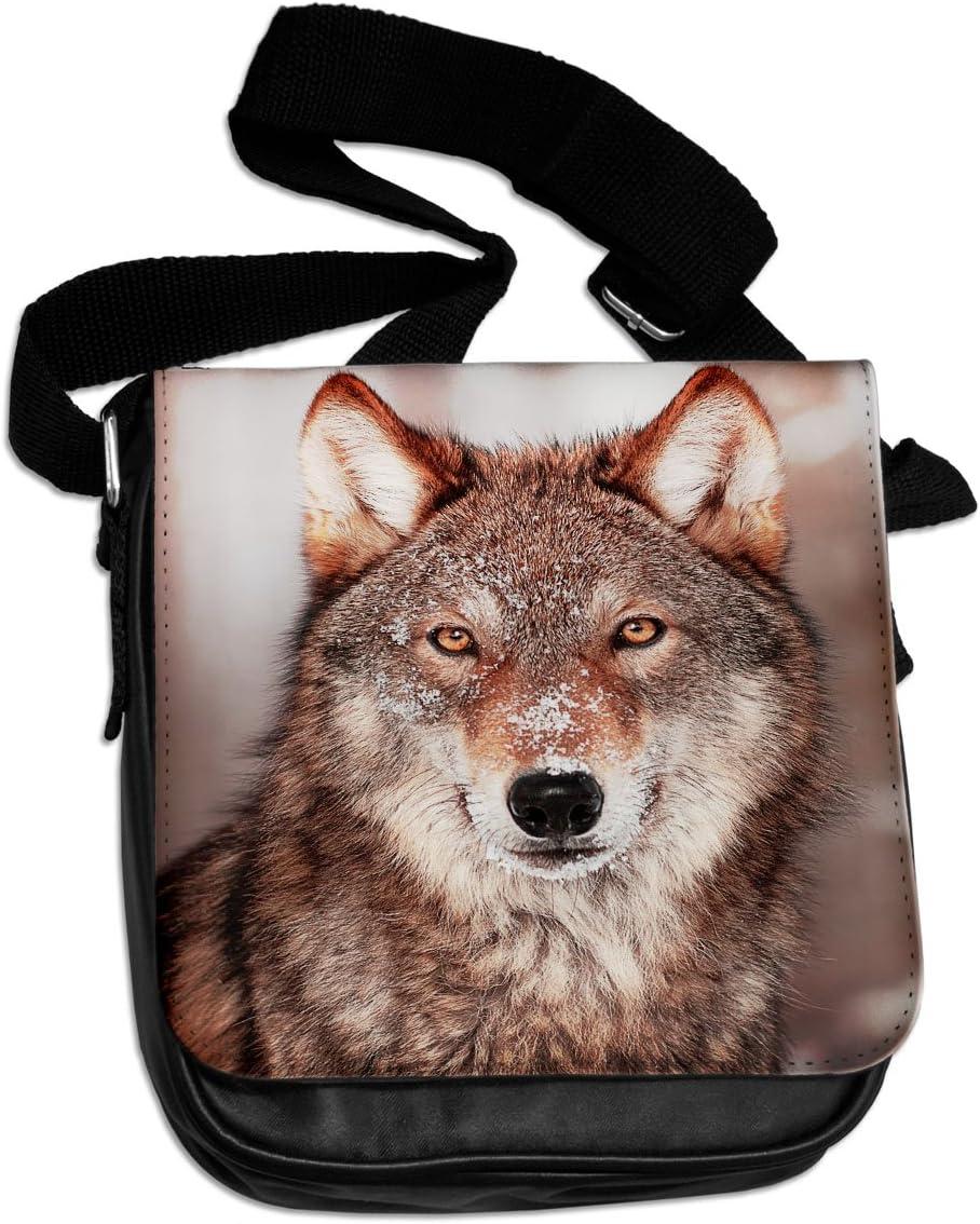 Grey Wolf Animal Shoulder Bag 145