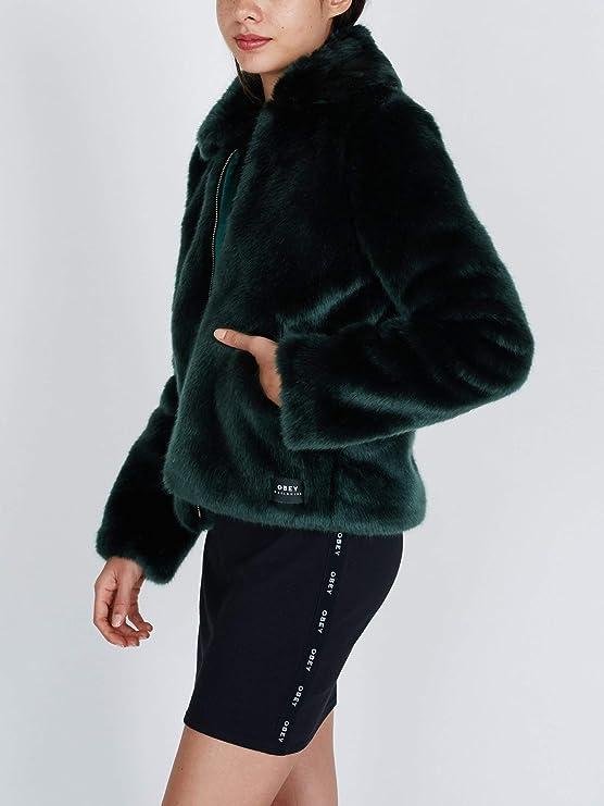 Chaqueta Obey Kale Fur Bomber: Amazon.es: Amazon.es