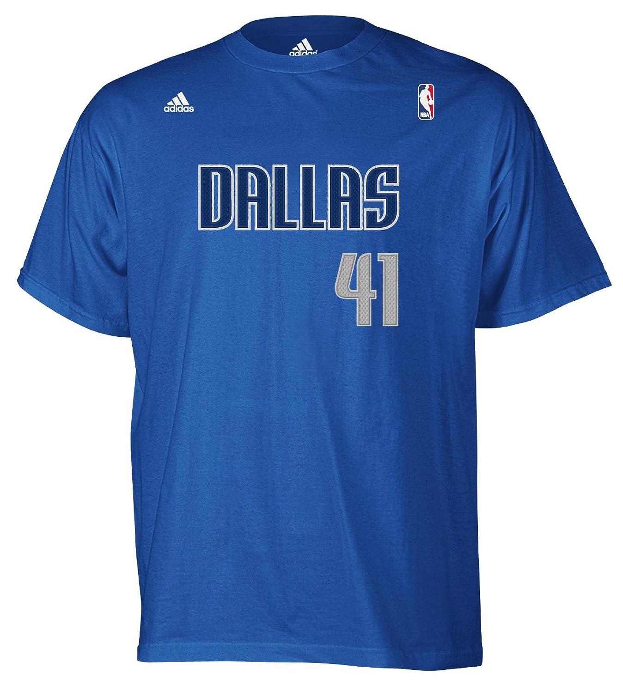 NBA Dallas Mavericks Dirk Nowitzki #41 Name & Number T-Shirt