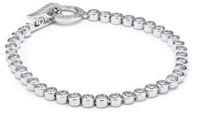 shop best sellers 100% quality release date S. Oliver Damen-Armband 925 Silber Zirkonia weiß 41789
