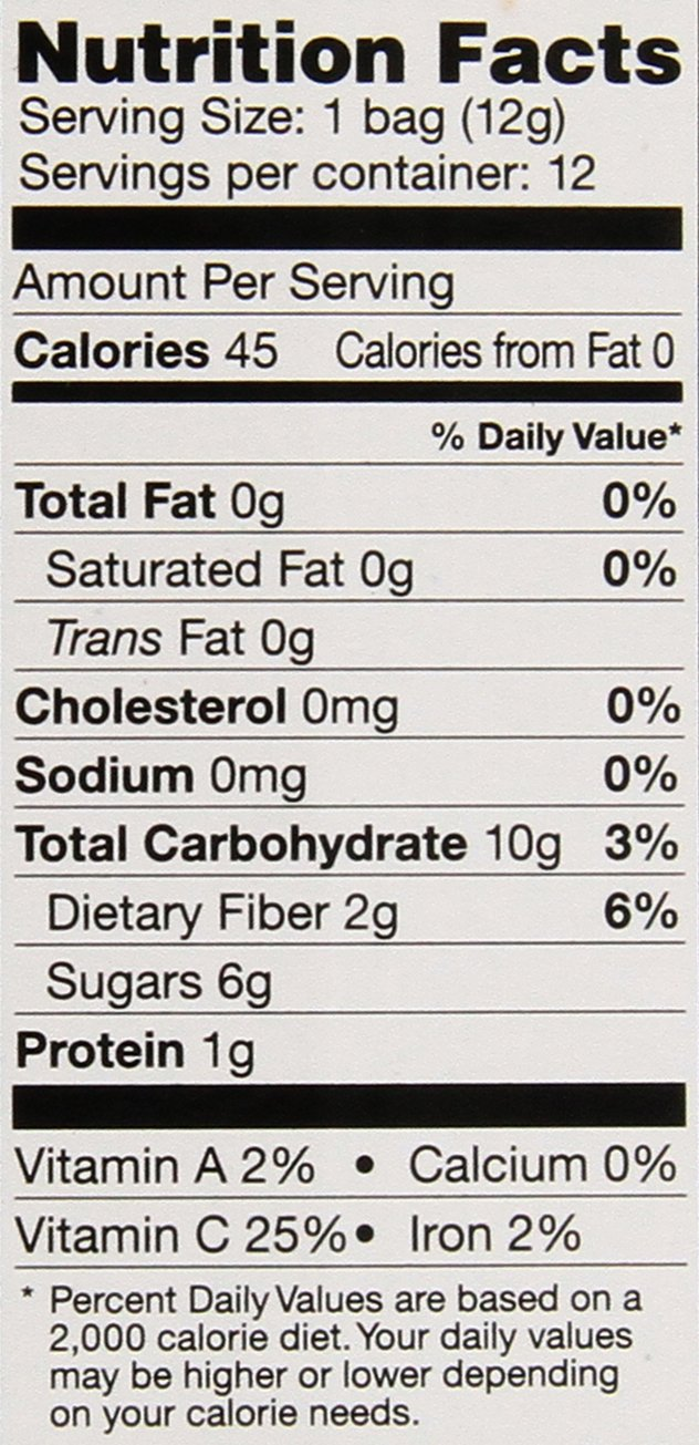 Brothers-ALL-Natural Goofy Crisps, Strawberry/Banana, 0.42 oz Pouches-0.42 oz, 12 ct by Brothers-ALL-Natural (Image #2)