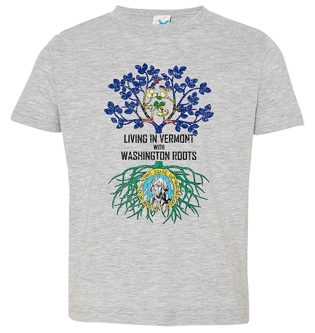 Tenacitee Babys Living in Vermont Washington Roots Shirt