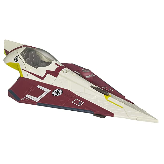 Star Wars Star Wars Toy Obi-Wan Jedi Starfighter: Amazon.es: Juguetes y juegos