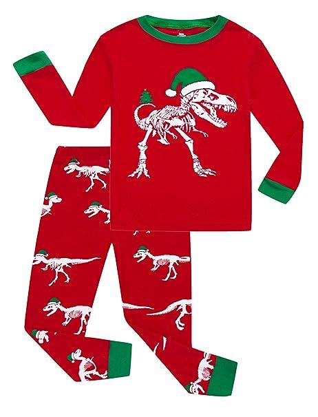 Boys Christmas Pajamas.Kikizye Girls Boys Christmas Pajamas Sets 100 Cotton Holiday Pyjamas