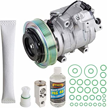 BuyAutoParts 60-81535RK NEW For Acura TL /& TSX AC Compressor w//A//C Repair Kit