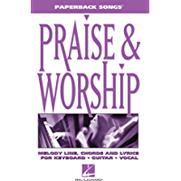 Praise & Worship (Paperback Songs) book cover