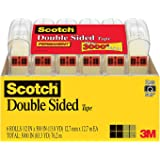 2 x Scotch Double Sided Tape, 1/2 x 500 Inches, 6 Dispensers/Pack (6137H-2PC-MP)