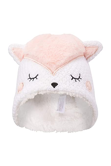 519de7ad4e5 Amazon.com  Mountain Warehouse Fox Fleece Junior Hat - Kids Winter ...