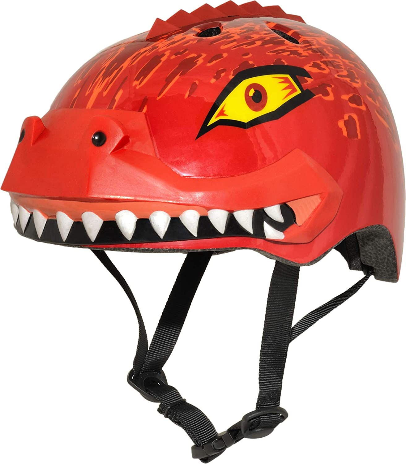 Raskullz 3D Characters Child and Toddler Bike Helmets 1110003-Red-5-PARENT