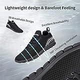 Belilent Mens Slip-On Sneakers Women Breathable