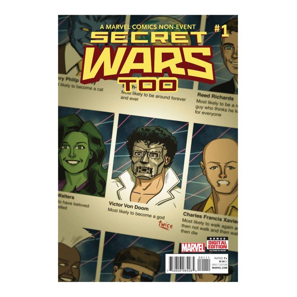 Download Secret Wars Too #1 Comic Book PDF