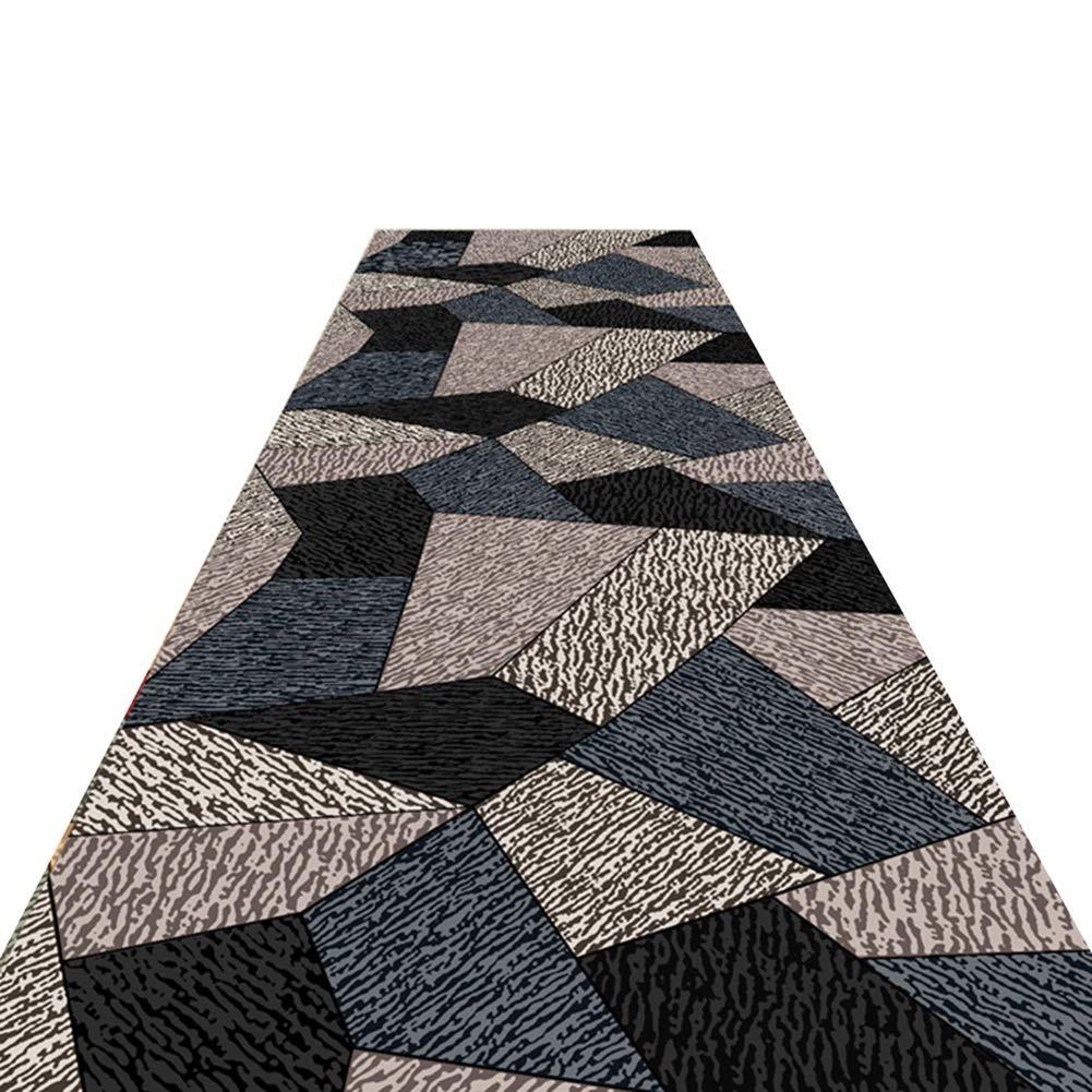 HAIPENG 廊下のカーペット ランナー ラグ にとって 滑り止め エリアラグ 通路 カーペット コリドー通路 エントランス マット 洗える フォーマル、 マルチサイズ (色 : A, サイズ さいず : 1.6x6m) B07MCTN6GD A 1.6x6m