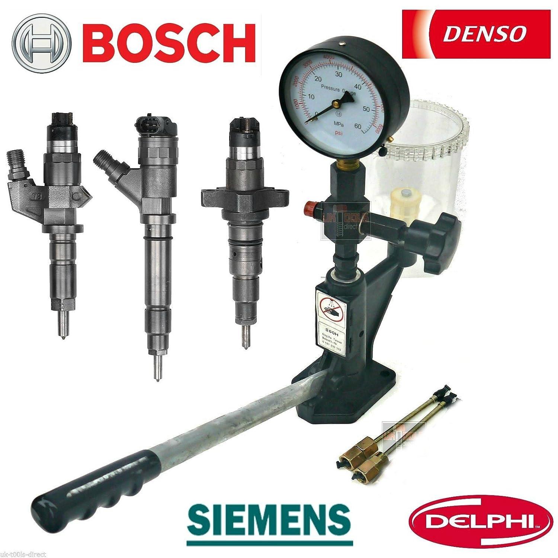 Druckverlust-Spr/ühmuster Einspritzer-D/üsentester Kalibrieren der Einspritzd/üse Diesel