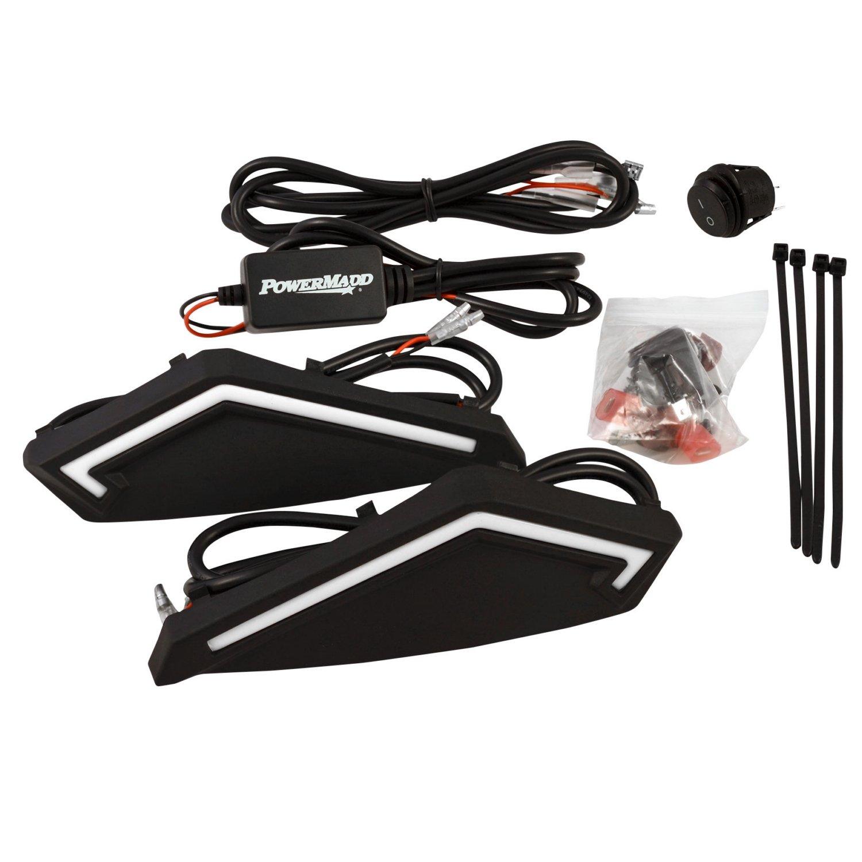 PowerMadd 34290 Black LED Light Kit for Star Series Handguard