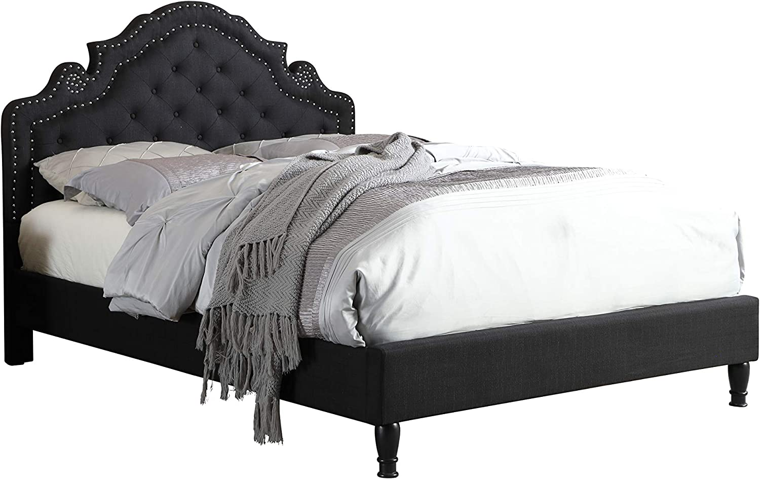 LIFE Home Bed 0023, Full, Black