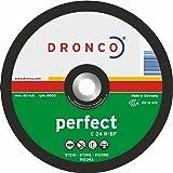 Dronco 1235015230x 3x 22.2mm Disques plats de coupe de pierre (lot de 25)