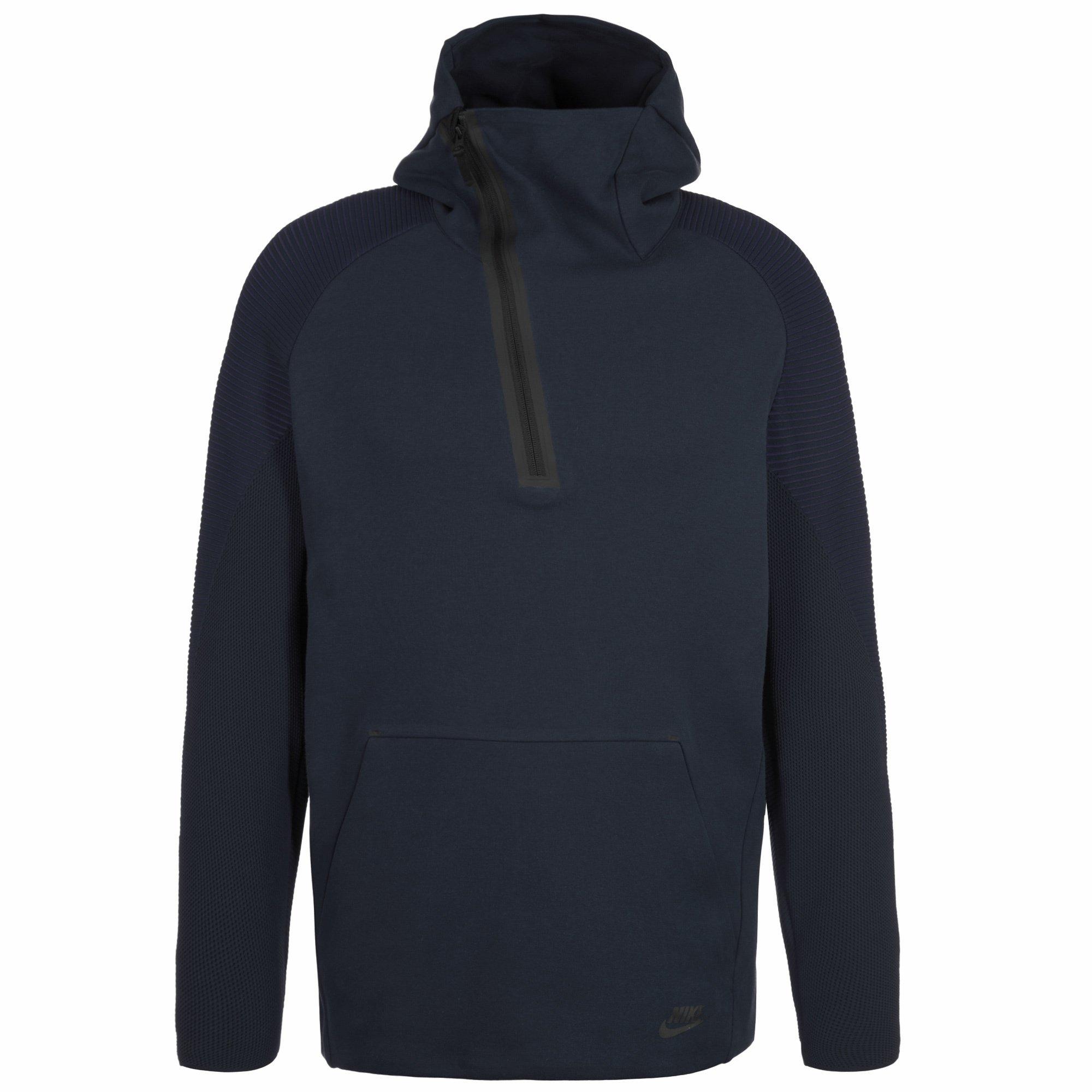 Nike Sportswear Mens Tech Fleece Hoodie 805655 Jacket (XX-Large, Navy 451) by NIKE