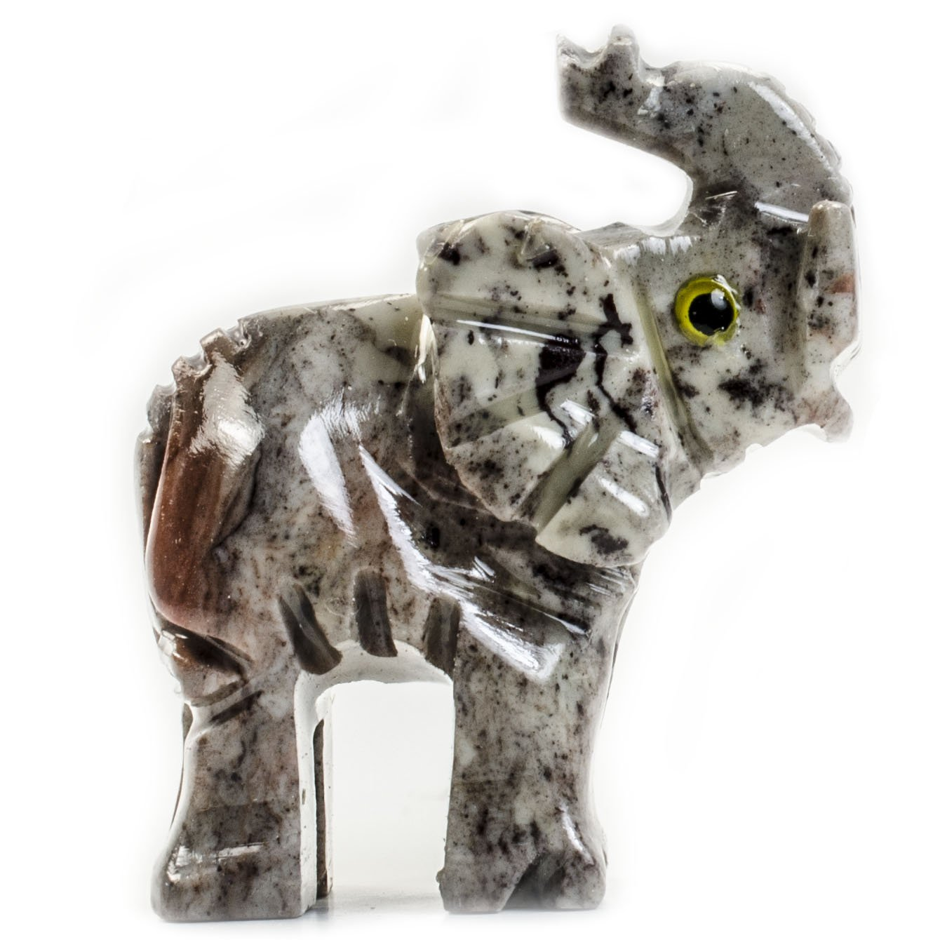Digging Dolls : 10 pcs Artisan Elephant Collectable Animal Figurine - Party Favors, Stocking Stuffers, Gifts, Collecting and More! by Digging Dolls (Image #2)