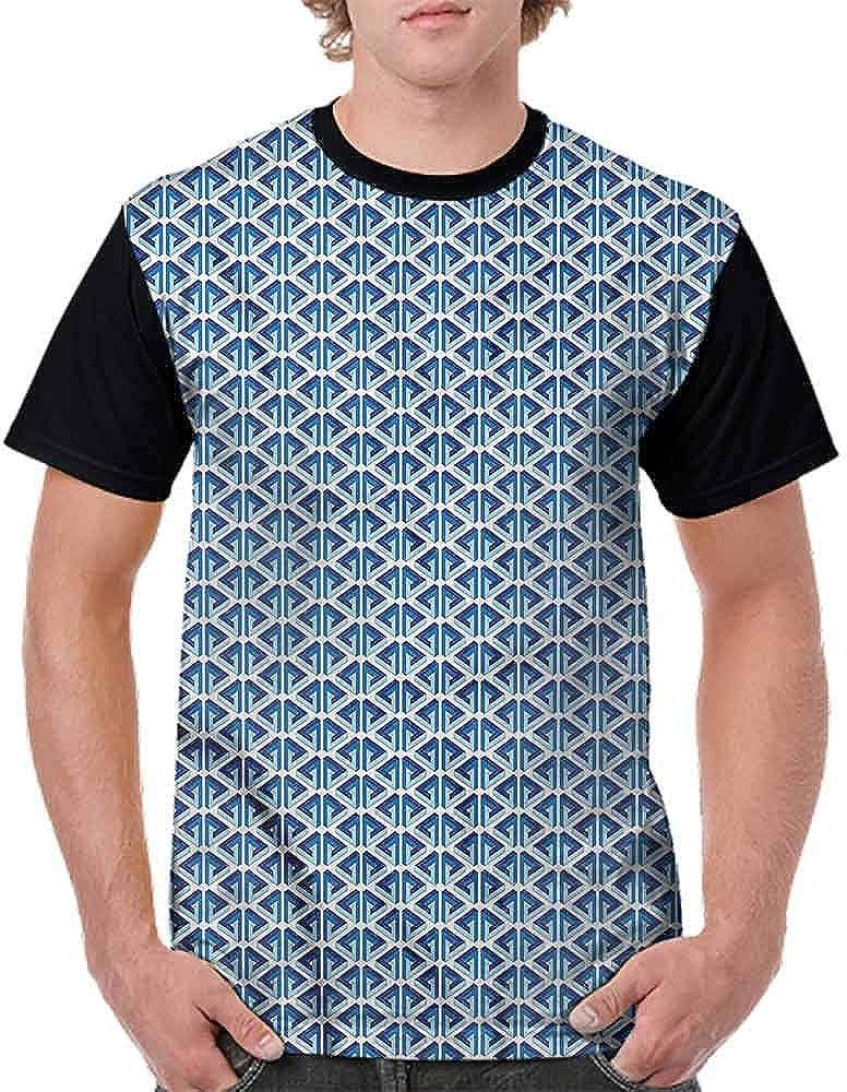 Cotton T-Shirt,Pastel Toned Circles Fashion Personality Customization