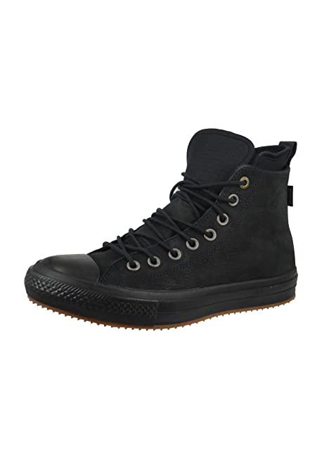 Converse Womens Chuck Taylor All Star Waterproof Boot Hi Black Nubuck Boots  4 UK 8643903b0
