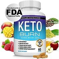 Keto Burn Pills Ketosis Weight Loss - 1200 Mg Ultra Advanced Natural Ketogenic Fat Burner Using Ketone Diet Boost Energy…