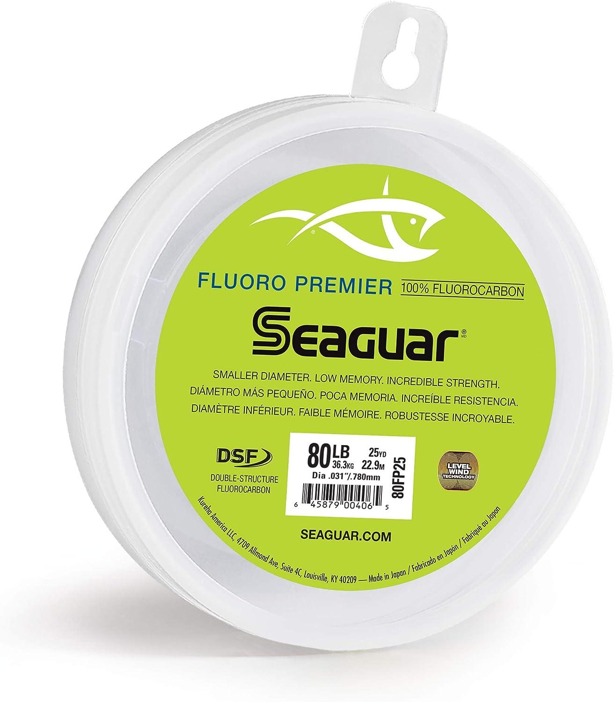 Seaguar Fluoro Premier 100 Fluorocarbon Leader 25 Yds 150lb for sale online