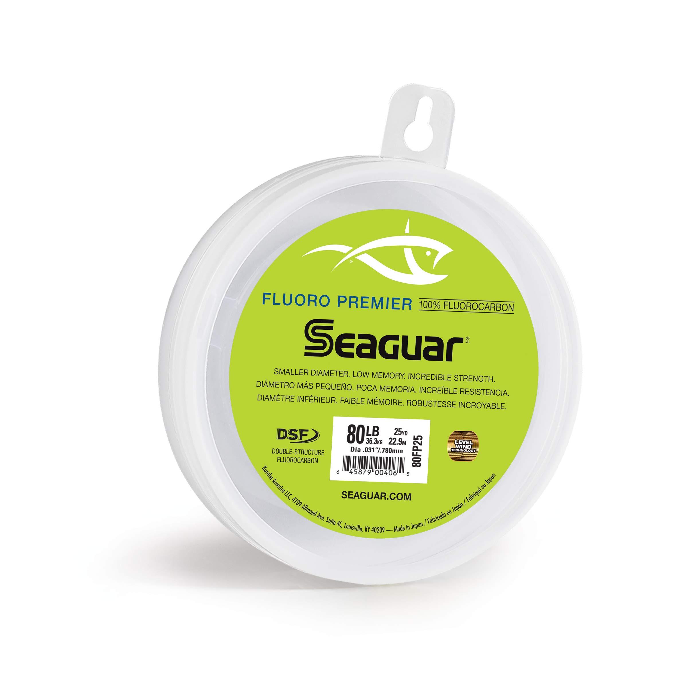 80fc25 Seaguar 1 Fluorocarbon Leader 25 Yds 80 LB for sale online