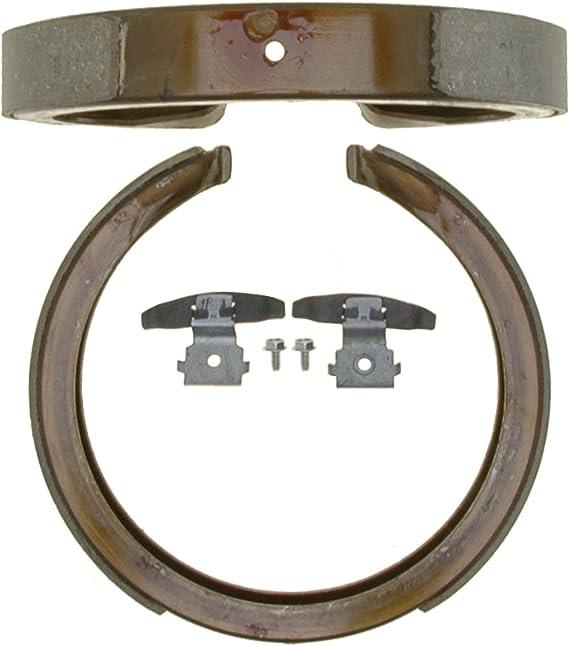 ACDelco 17395B Professional Bonded Rear Drum Brake Shoe Set