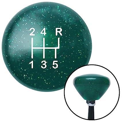 Green American Flag Waving American Shifter 106805 Black Shift Knob with M16 x 1.5 Insert