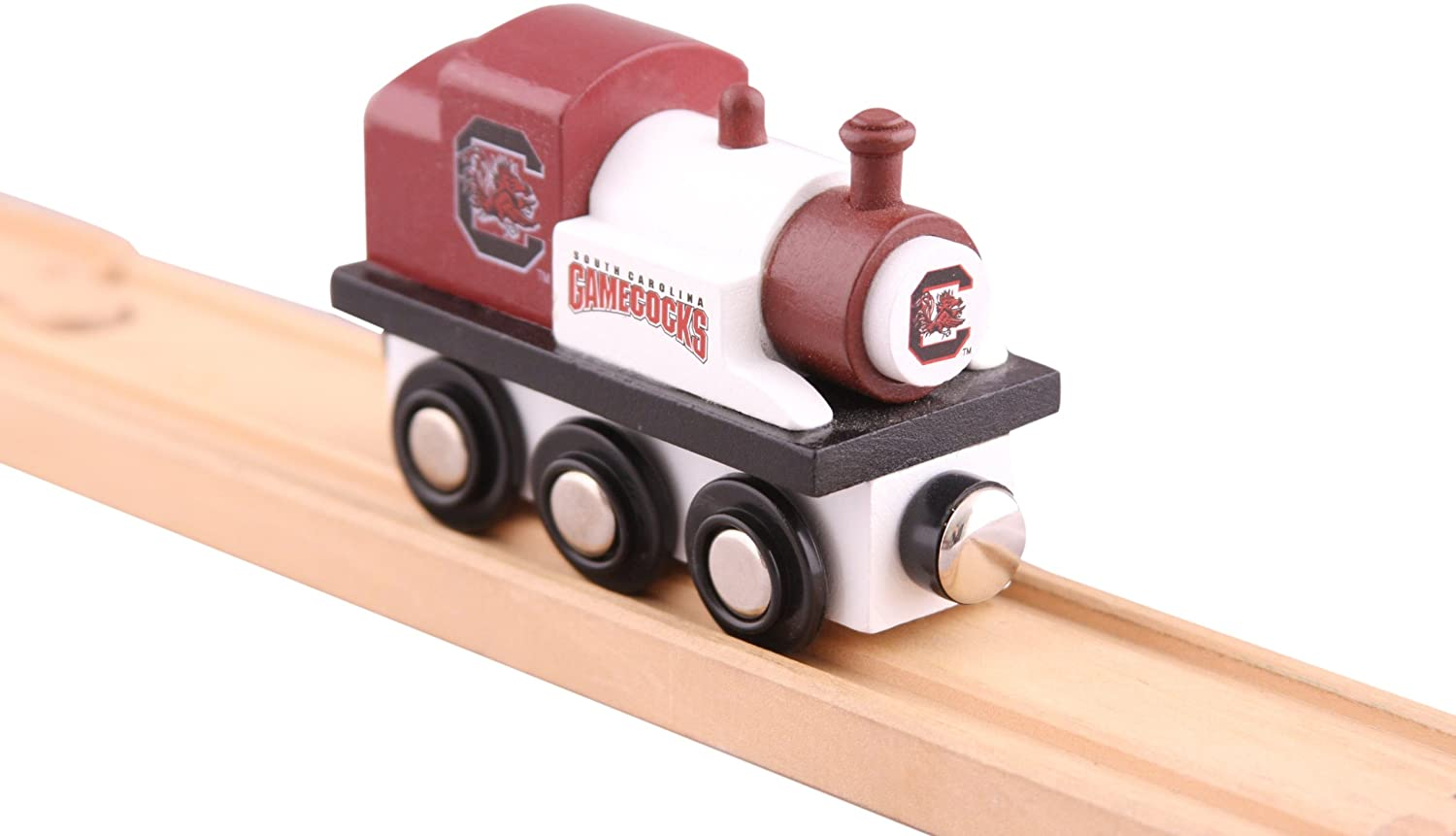 NCAA Unisex MasterPieces NCAA Real Wood Toy Train College Team Trains 4041