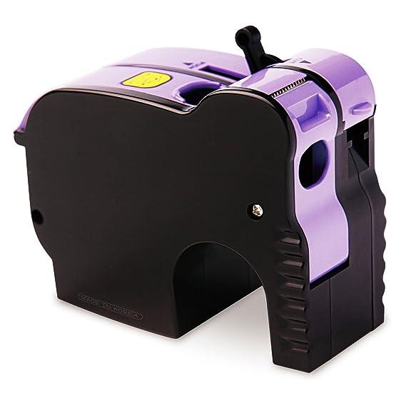 facile ruban semi-automatique Dévidoir de ruban adhésif : éléphant : Violet: Amazon.es: Hogar