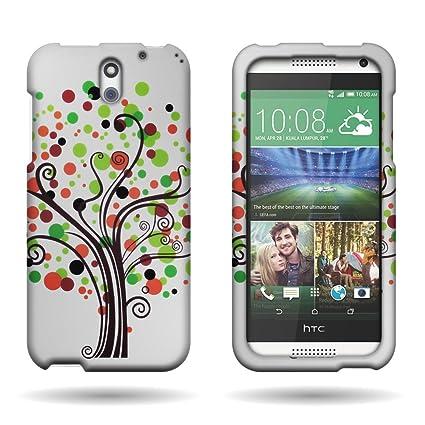 Amazon.com: Cubierta de plástico duro para HTC Desire 610 ...