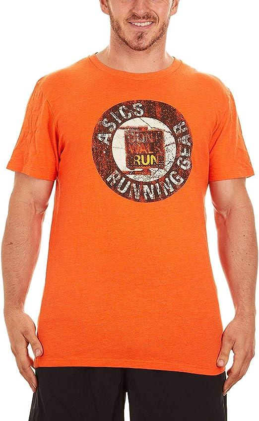 ASICS Camiseta de Manga Corta para Running para Hombre ...