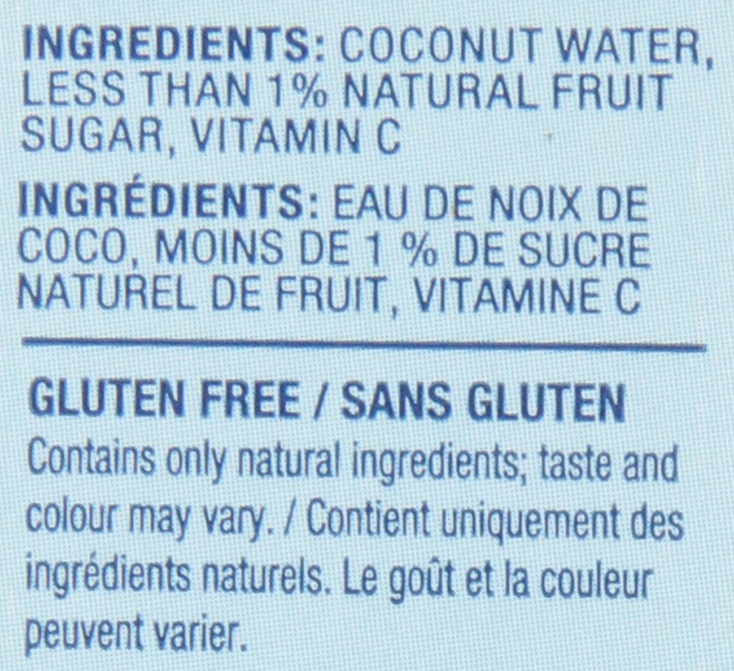Vita Coco Coconut Water, Pure - Naturally Hydrating Electrolyte Drink - Smart Alternative to Coffee, Soda, and Sports Drinks - Gluten Free - 33.8 Ounce (Pack of 12) by Vita Coco (Image #4)