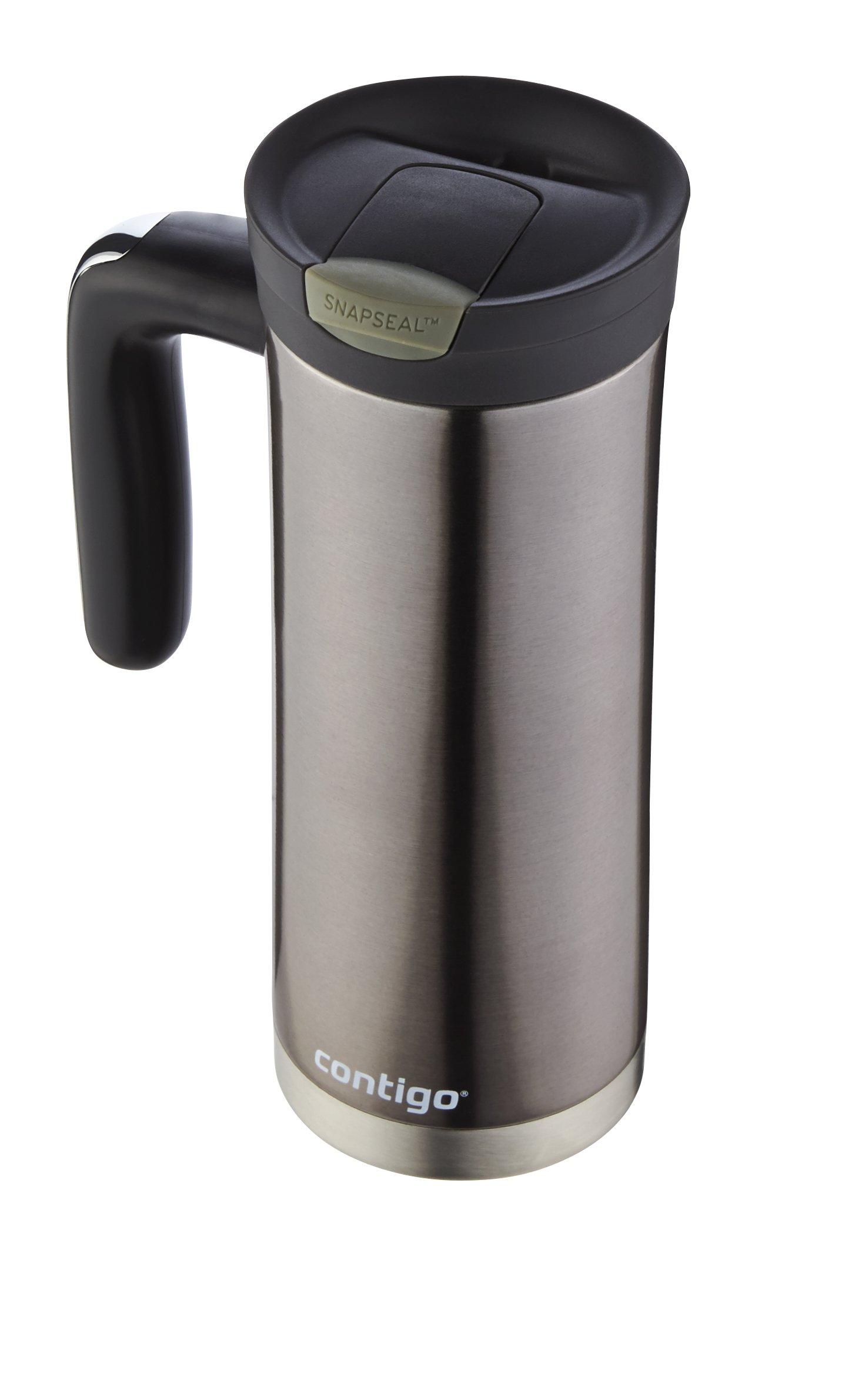 Contigo SnapSeal Superior Stainless Steel Travel Mug, 20 oz, Gunmetal by Contigo (Image #5)