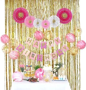 Amazon.com: RainMeadow - Juego de decoraciones de cumpleaños ...